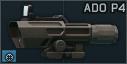 NcSTAR ADO P4 Sniper 3-9x42 riflescope