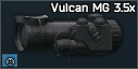 Vulcan MG night scope 3.5x